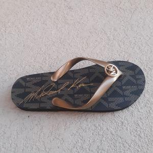 Michael Kors MK Logo Sandals Size 6